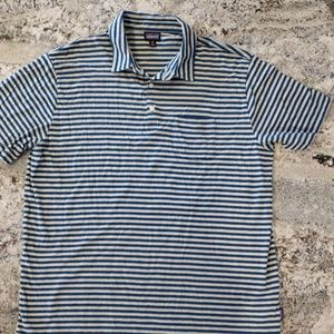 Patagonia Men's Polo Striped Shirt XL